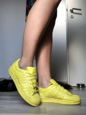 Gelbe Adidas Superstar