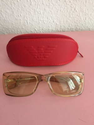 Armani Angular Shaped Sunglasses gold orange