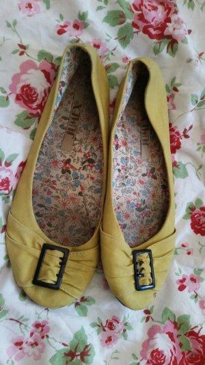 Gelbe Ballerinas