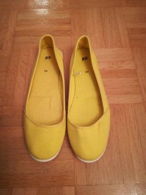 gelbe Ballerinas von H&M