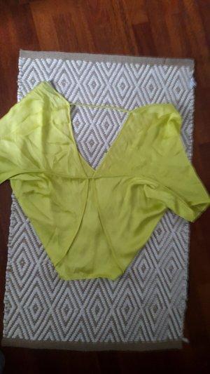 Gelbe Bluse
