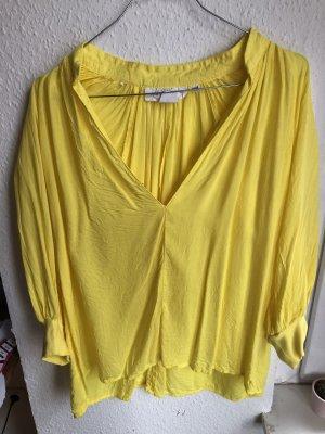H&M L.O.G.G. Blouse oversized jaune