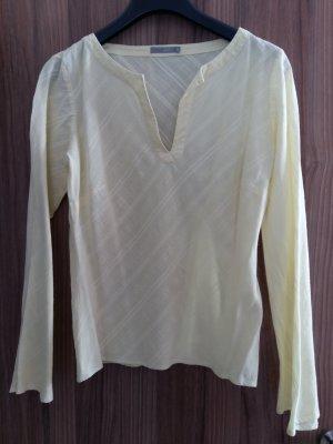Gelbe Bluse / Tunika von Zero Basic in Größe 38