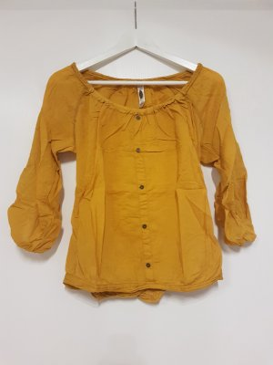 Bershka Blouse yellow