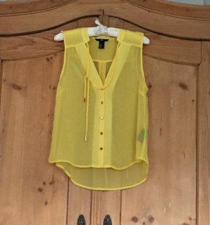 Gelbe Bluse von H&M