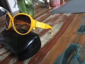 Gelbe Chanel Sonnenbrille