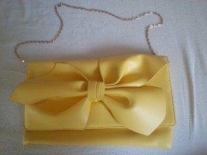 Gelbe Clutch Abendtasche