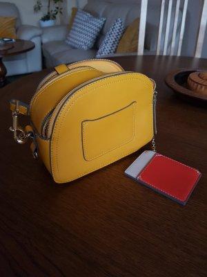gelbe handtasche neu