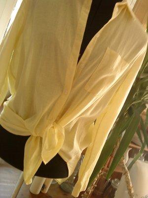 Hemdblouse geel-sleutelbloem Katoen