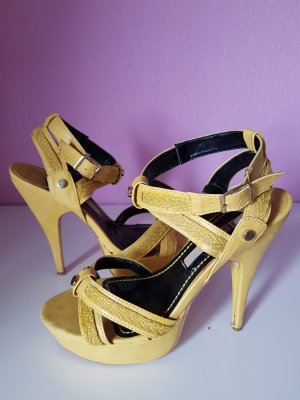 Jumex High Heel Sandal yellow