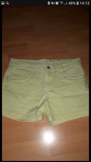 Gelbe hotpans/shorts