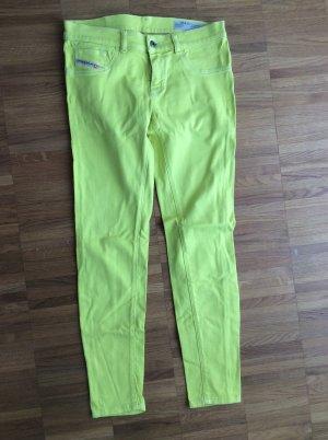 gelbe Jeans Diesel Gr. 29