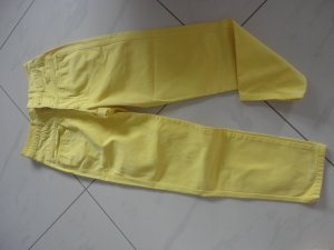 Closed Straight Leg Jeans yellow-neon yellow cotton