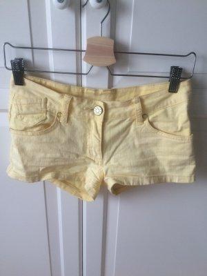 Gelbe Jeans Short von Pimkie