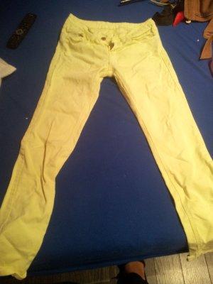 gelbe jeans von amisu