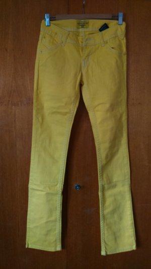 gelbe Jeans von Clockhouse