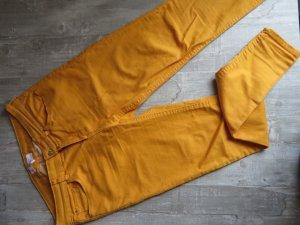 Gelbe Jeans von Mango Paty Skinny Regular
