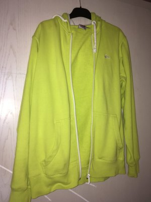 Quicksilver Hooded Vest neon yellow-lime yellow