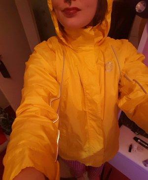 Gelbe Regenjacke dünn