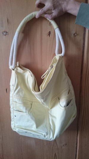Gelbe schultertasche
