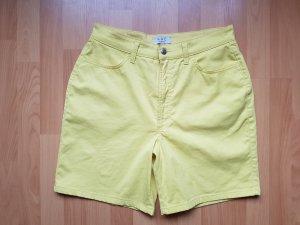 Gelbe Shorts von MAC Größe 42 Sommer Highwaist
