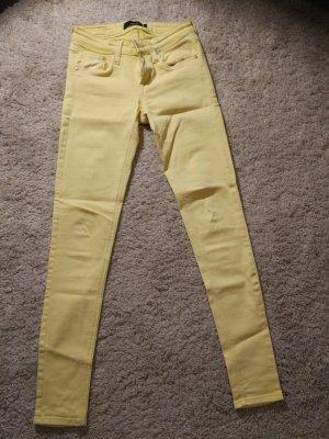 Gelbe  skinny  Jeans