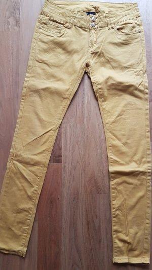 Flame Pantalon strech brun sable