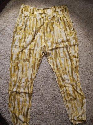 gelbe Sommer-Haremshose
