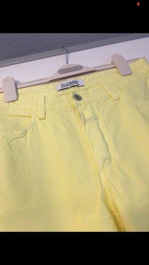 Gelbe Sommerhose Closed 36/38 Gelb