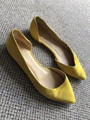 Gelbe Spitzenballerinas von Zign