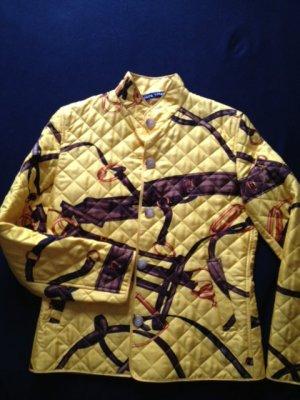 Gelbe Steppjacke von Ralph Lauren