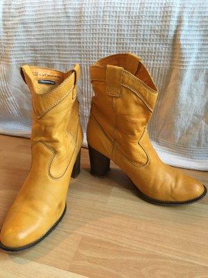 Tamaris Korte laarzen goud Oranje