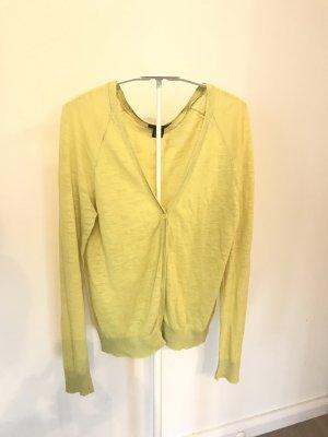 Gelbe Strickjacke H&M