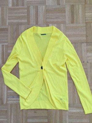 Gelbe Strickjacke von Skungfunk