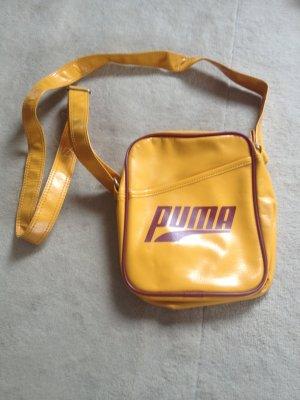 Gelbe Tasche Puma mit Reißverschluss