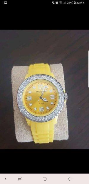 Gelbe Uhr