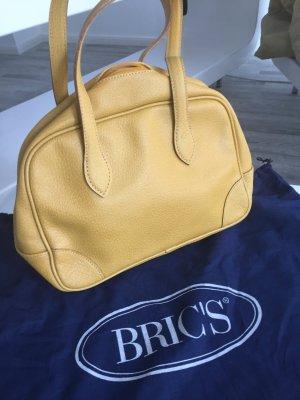 Gelbe Vintage Tasche von Bric's