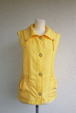 Gerry Weber Chaleco deportivo amarillo Poliéster