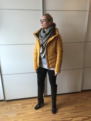 Gelbe Winterjacke von ZARA Gr. M