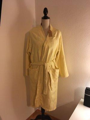 Gelber Bademantel aus Baumwolle one size