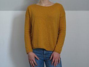 Gelber H & M Pullover