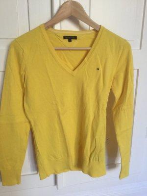 Gelber, leichter Pullover von Tommy Hilfiger