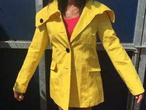 Gelber Mantel von H&M