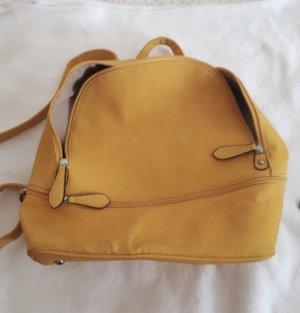 Sac à dos pour ordinateur portable orange doré-jaune