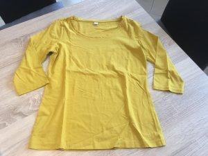 Gelbes 3/4 arm Shirt