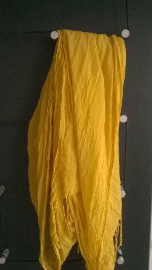 Gelbes Basic-Tuch von H&M