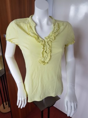 gelbes Baumwoll Sommershirt