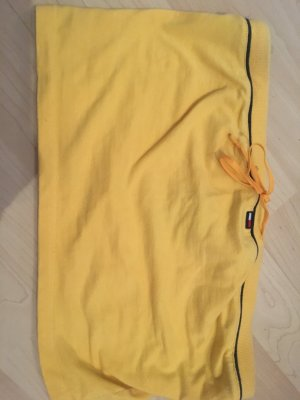 Tommy Jeans Top cut-out giallo
