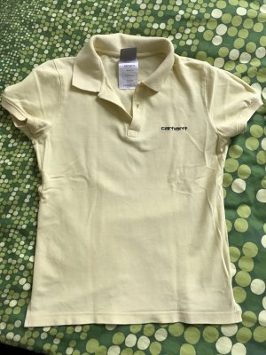 Carhartt Polo Shirt yellow-black