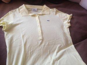 Gelbes Lacoste Polo Shirt